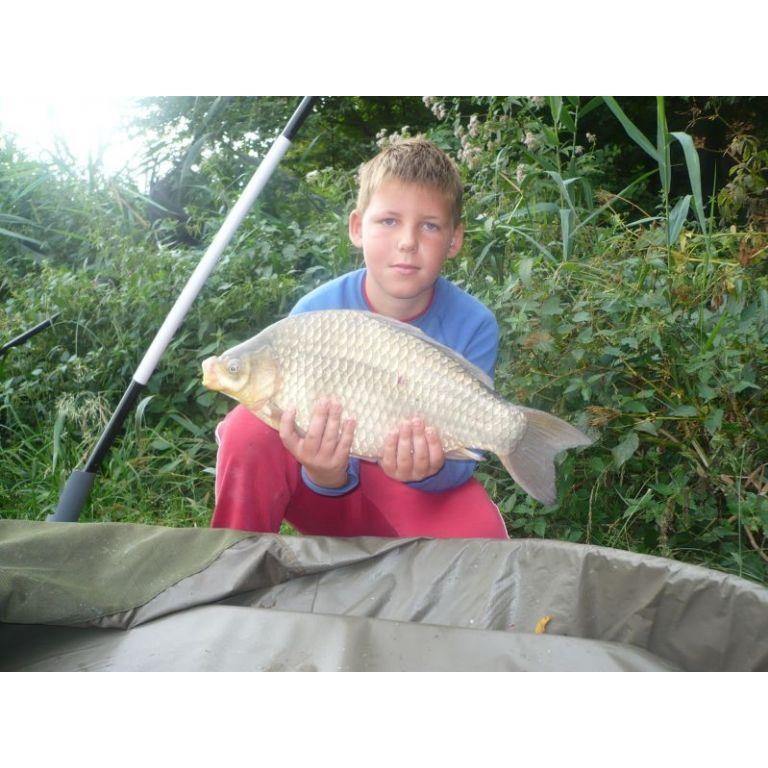 Szabó Attila Bálint 10 éves horgász nagy fogása