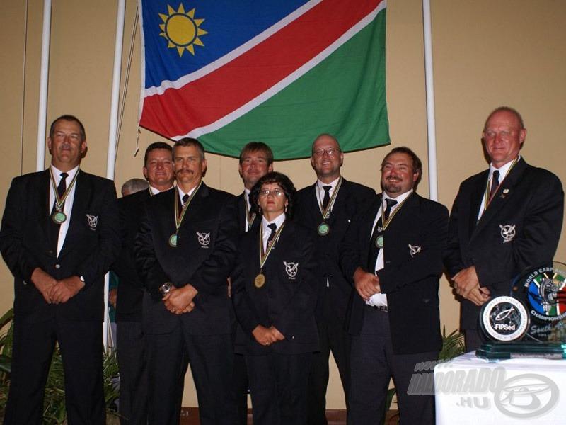 """Az újonc Namíbia pedig """"kipecázta"""" a bronzérmet"""