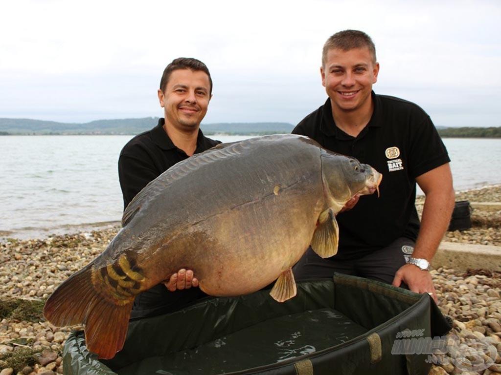 World Carp Classic 2011: 7. hely, a szektor legnagyobb hala 24,80 kg