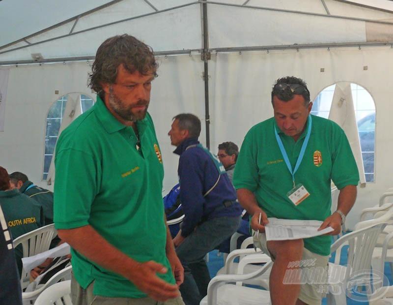 Gyors ellenőrzés, ki hova került... nem csak a magyar versenyzőket nézik, hanem a másik 3 erős csapatot is