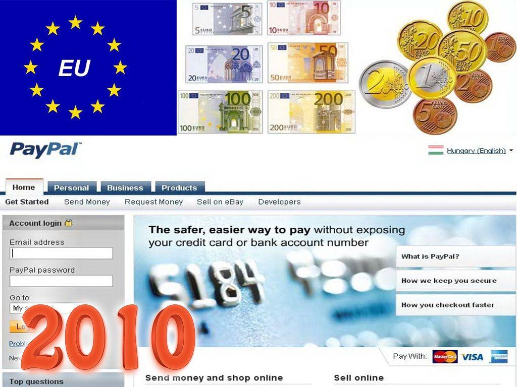 2010-től az Európai unió többi tagállamába is szállítunk, továbbá bevezetésre került a PayPal fizetési rendszer is