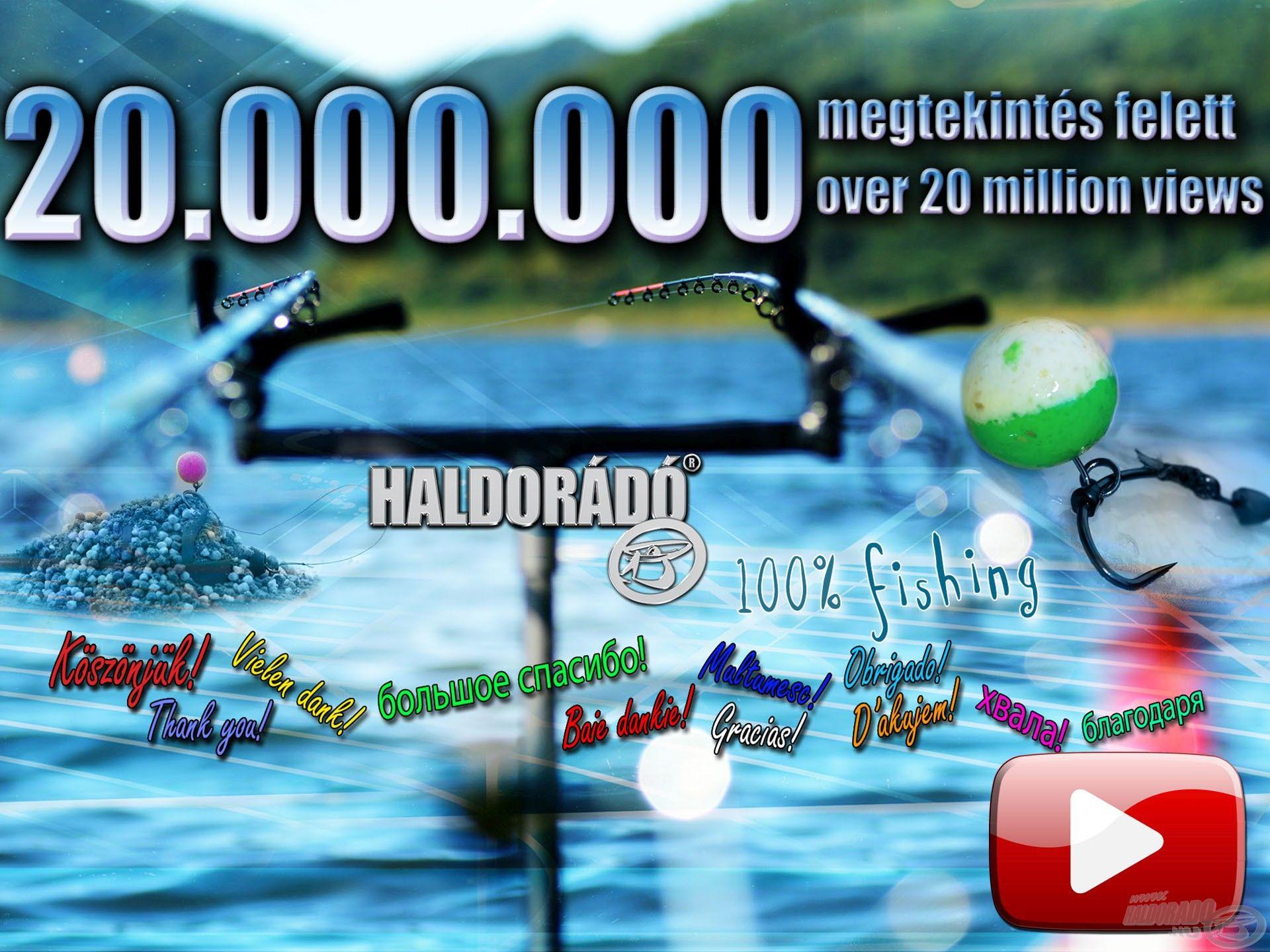 20.000.000 megtekintés felett!