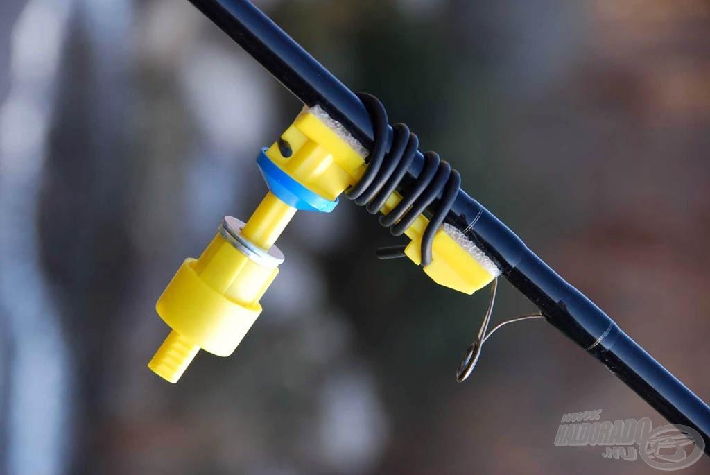 Hasznos kiegészítő ez a zsinór feltekercselését segítő ügyes kis szerkezet. A rugalmas gumicsíkkal pár mozdulattal felfogathatjuk a horgászbotra…