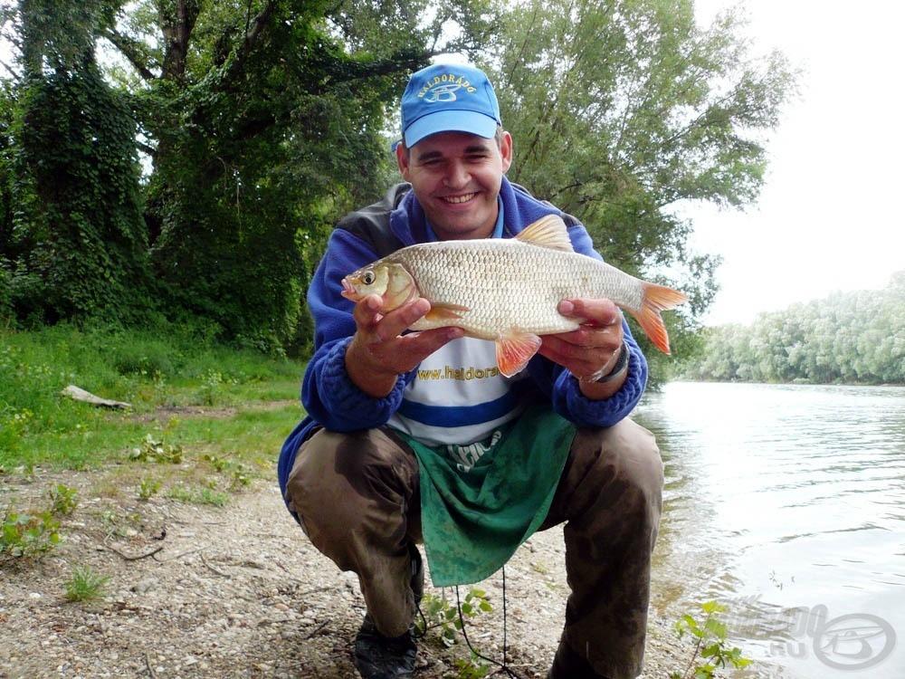 Szeretek keszegre horgászni, mind finomszerelékkel…