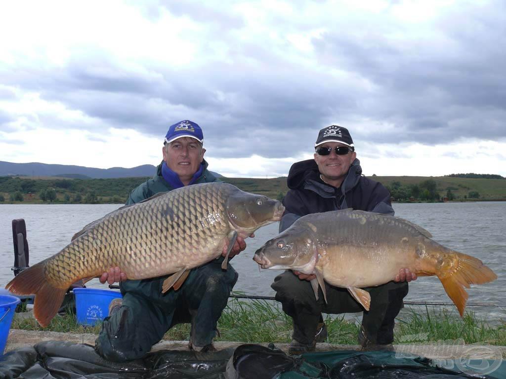 Maconka, 17,22 kg és12,64 kg