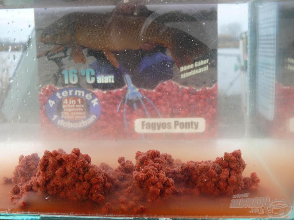 A Pellet Pack Turbo Fagyos Ponty olyan hideg vízben is hatékony pellet mix, amelyre ha rátalálnak a halak, többet nem mozdulnak onnan!