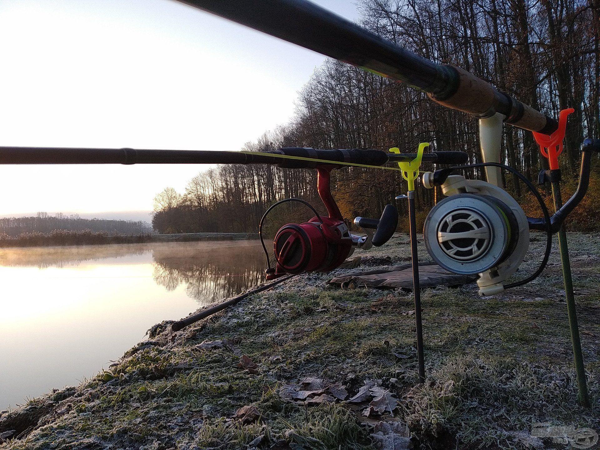 Az általam használt felszerelés ezen a horgászaton azonos volt a másodikon használttal
