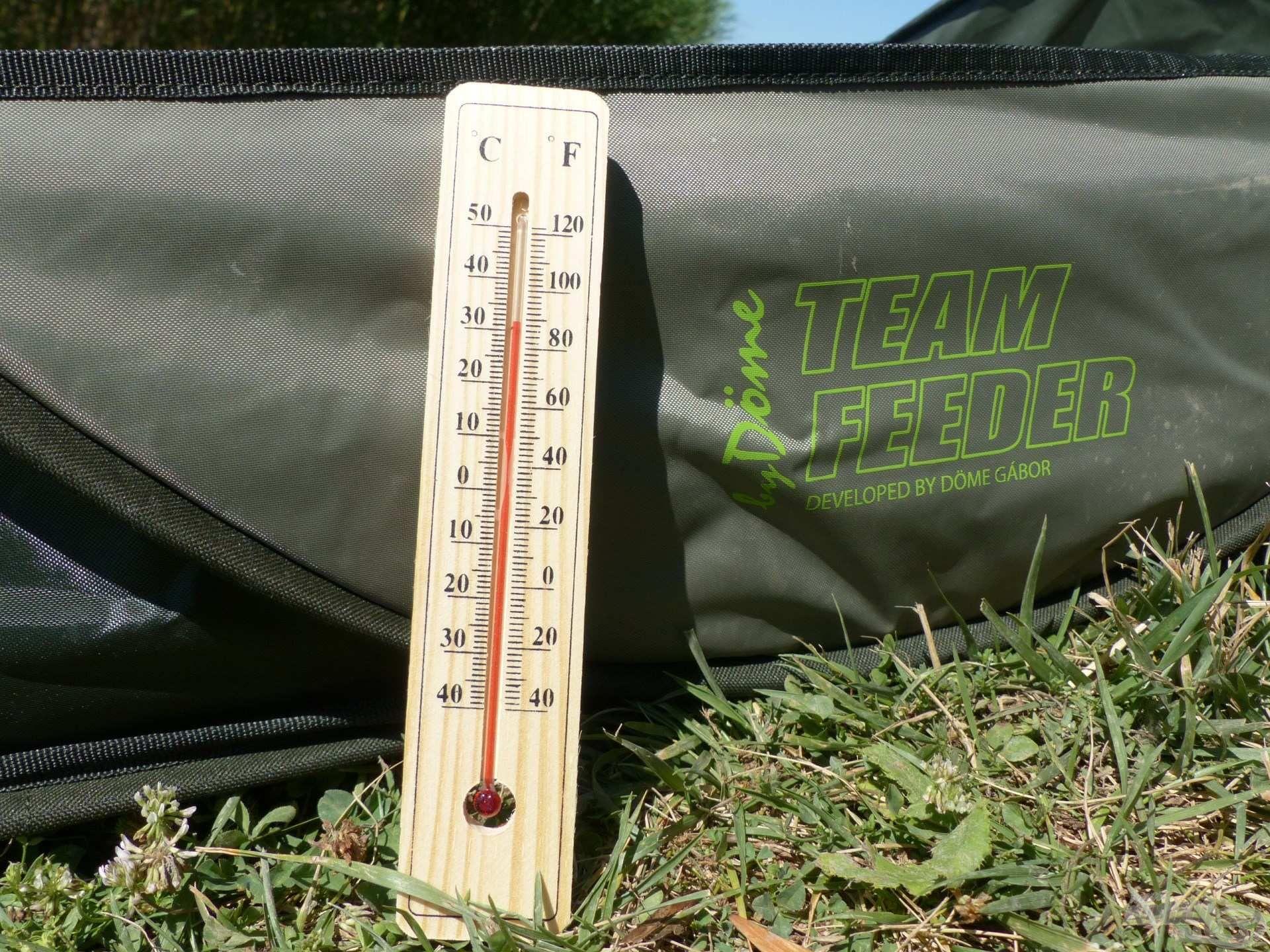30 Celsius-fok felett