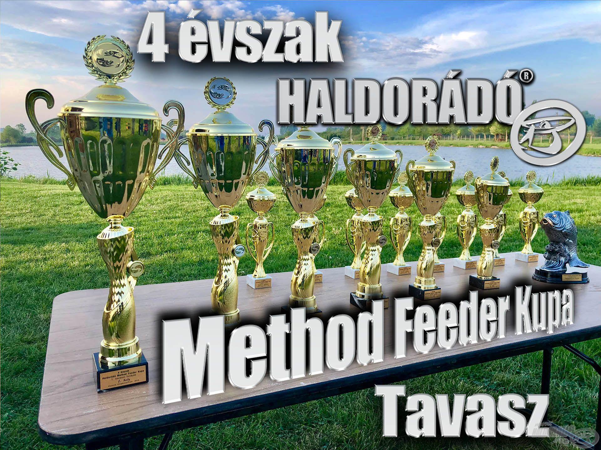 4 évszak Haldorádó Method Feeder Kupa 2019 versenysorozat kiírás – Tavasz
