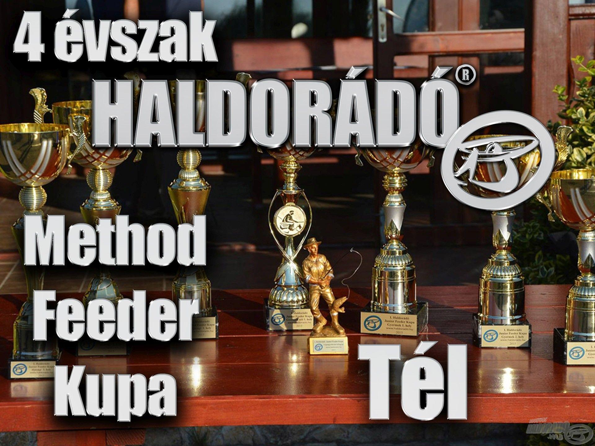 4 évszak Haldorádó Method Feeder Kupa 2019 versenysorozat kiírás – Tél, záró forduló