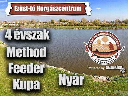 4 évszak Haldorádó Method Feeder Kupa 2020 versenysorozat kiírás – Nyár
