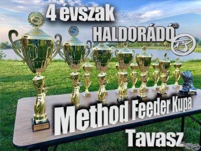 4 évszak Haldorádó Method Feeder Kupa 2020 versenysorozat kiírás – Tavasz