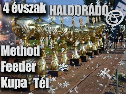 4 évszak Haldorádó Method Feeder Kupa – 4. téli, záró forduló versenykiírás