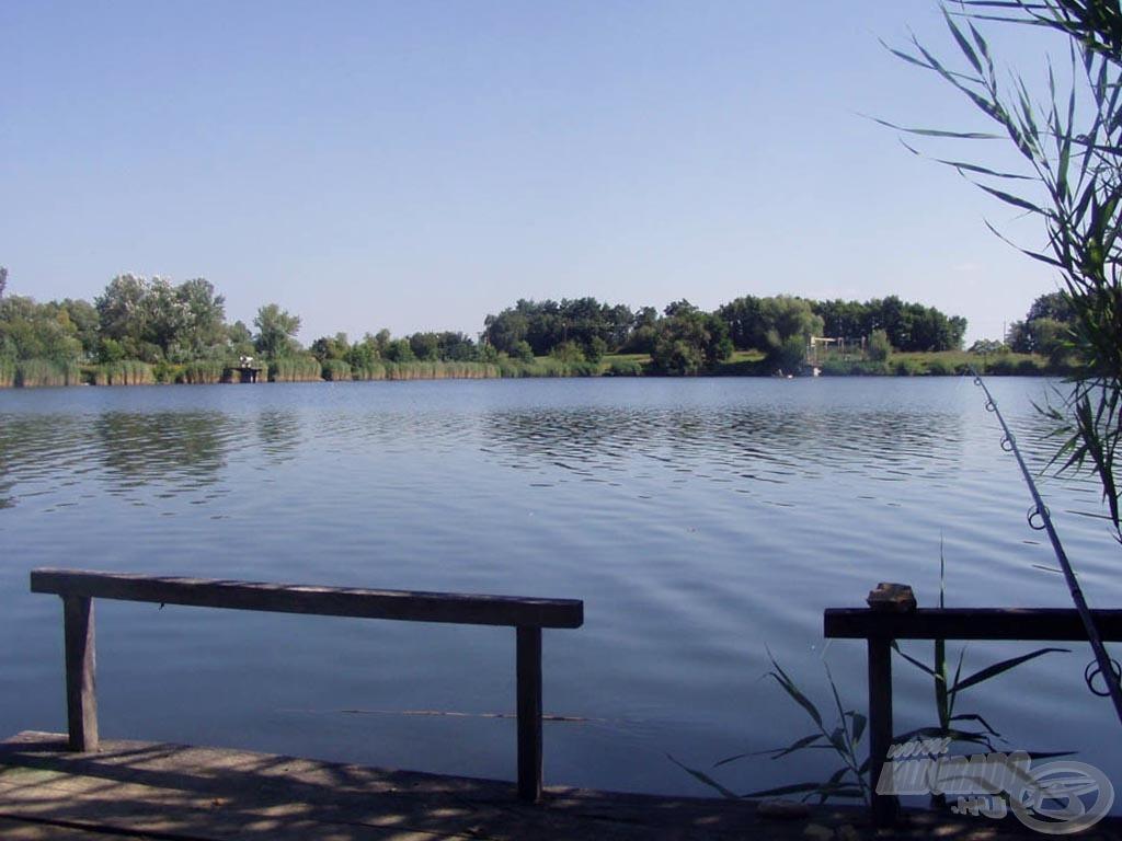 Horgászhely, ahol az álmok könnyen valóra válhatnak