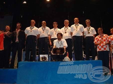 Az SZM csapata világbajnok