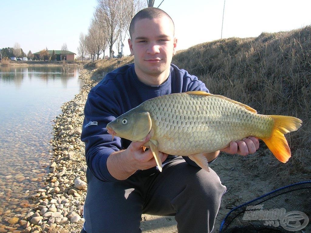 A 2012. év első horgászata