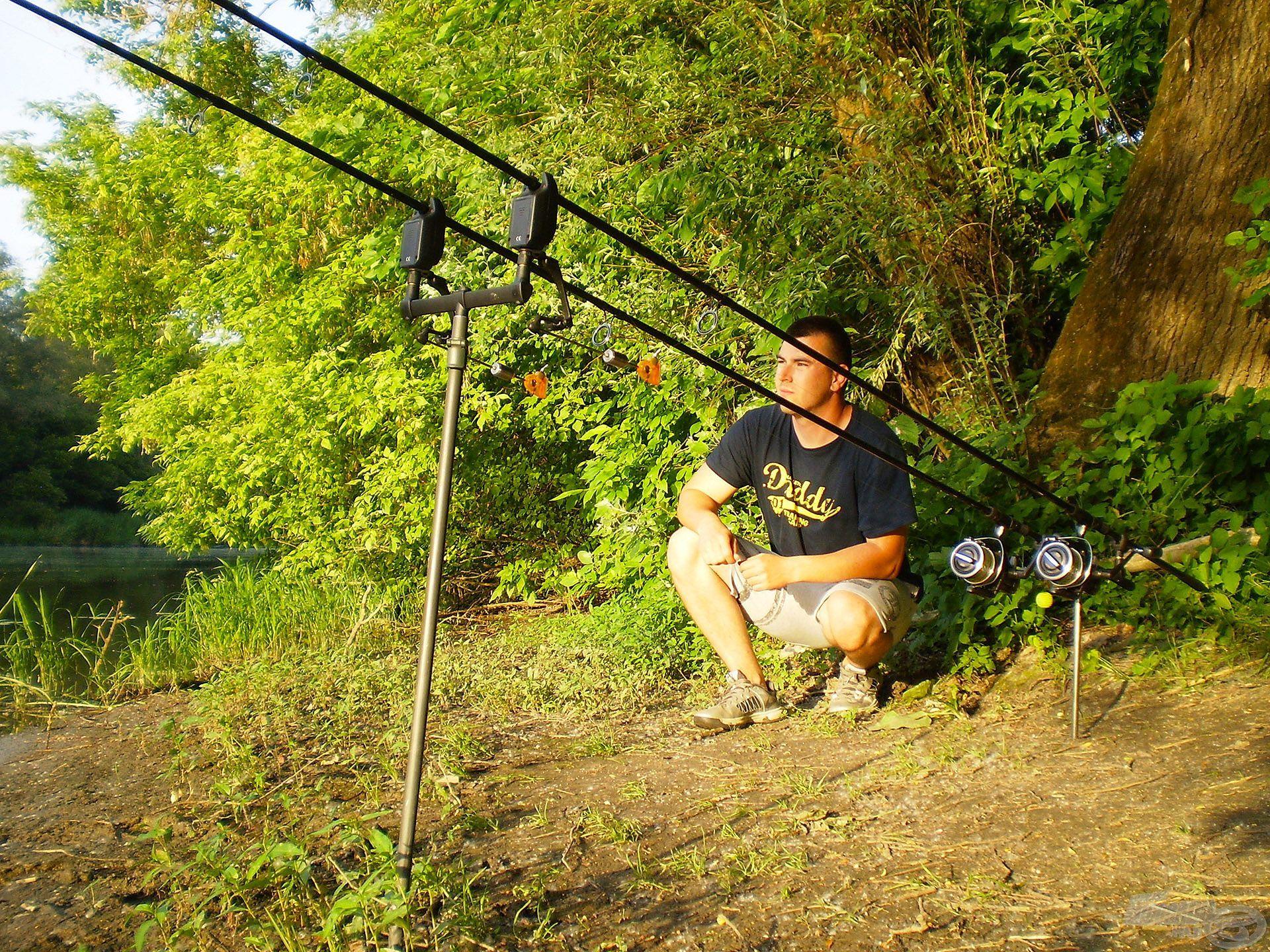 … egyaránt szívesen horgászom