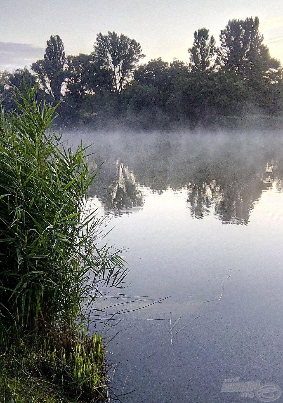 Őrbottyáni Horgásztó, ahol lefektettem az alapokat