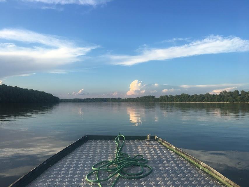 Halászatőri csónakból, mikor még itt dolgoztam…