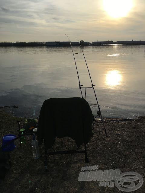 A Duna élő vize, itt épen Lórévnél