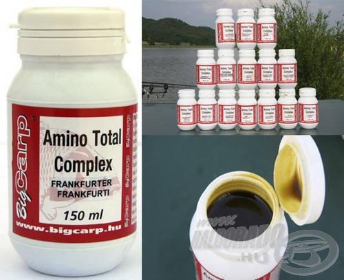 A siker egyik nélkülözhetetlen kelléke - Big Carp Amino Total Komplex