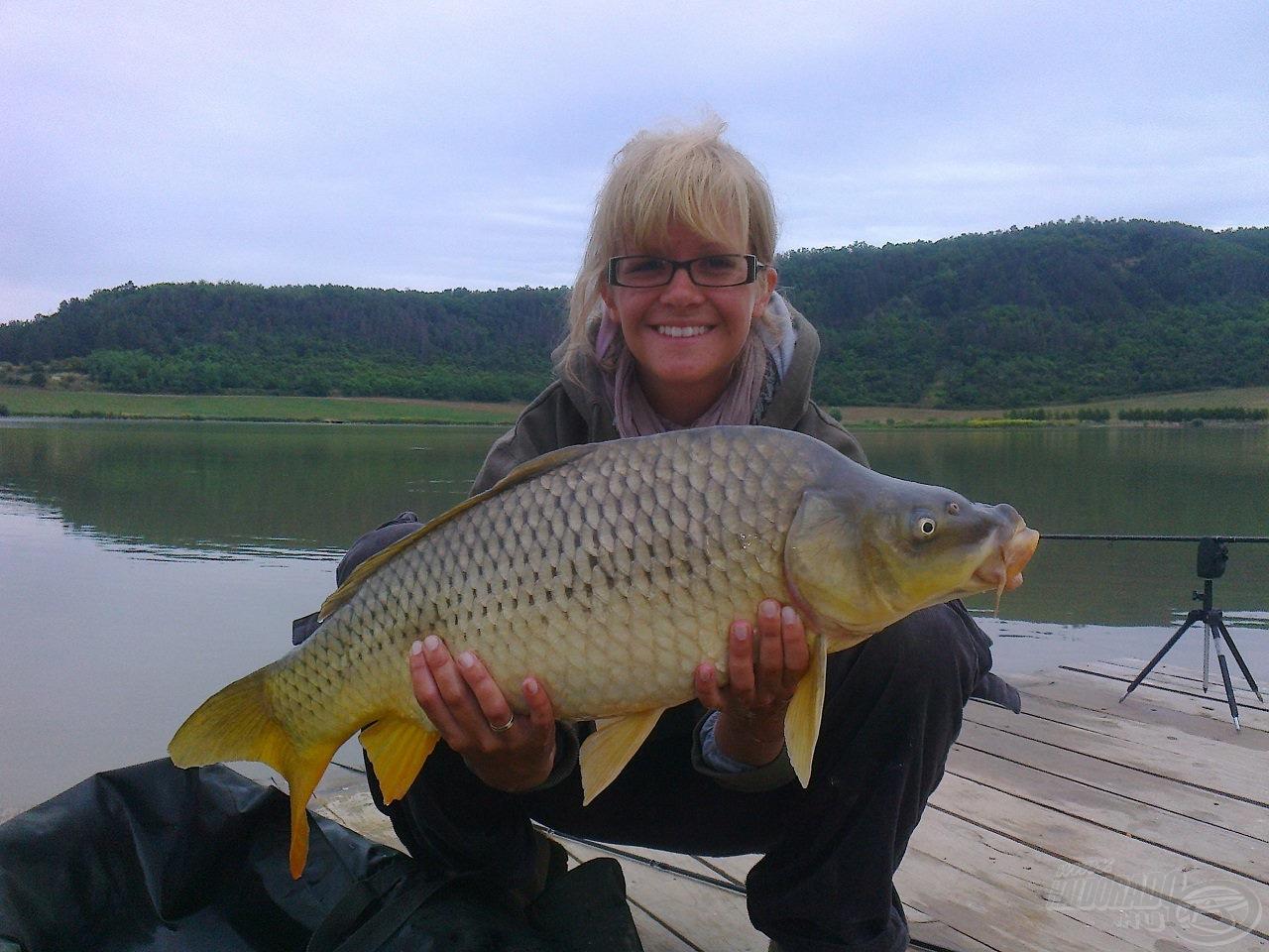 Már profi horgász