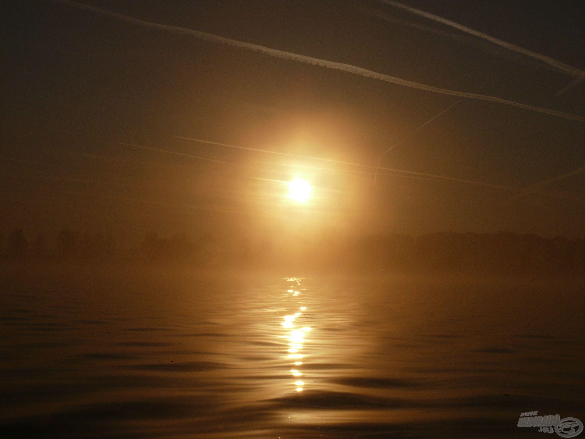 Egy páratlan napfelkelte