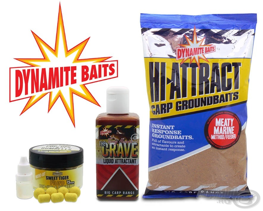 A Dynamite Baits termékek újra, még szélesebb választékkal kaphatók a Haldorádón