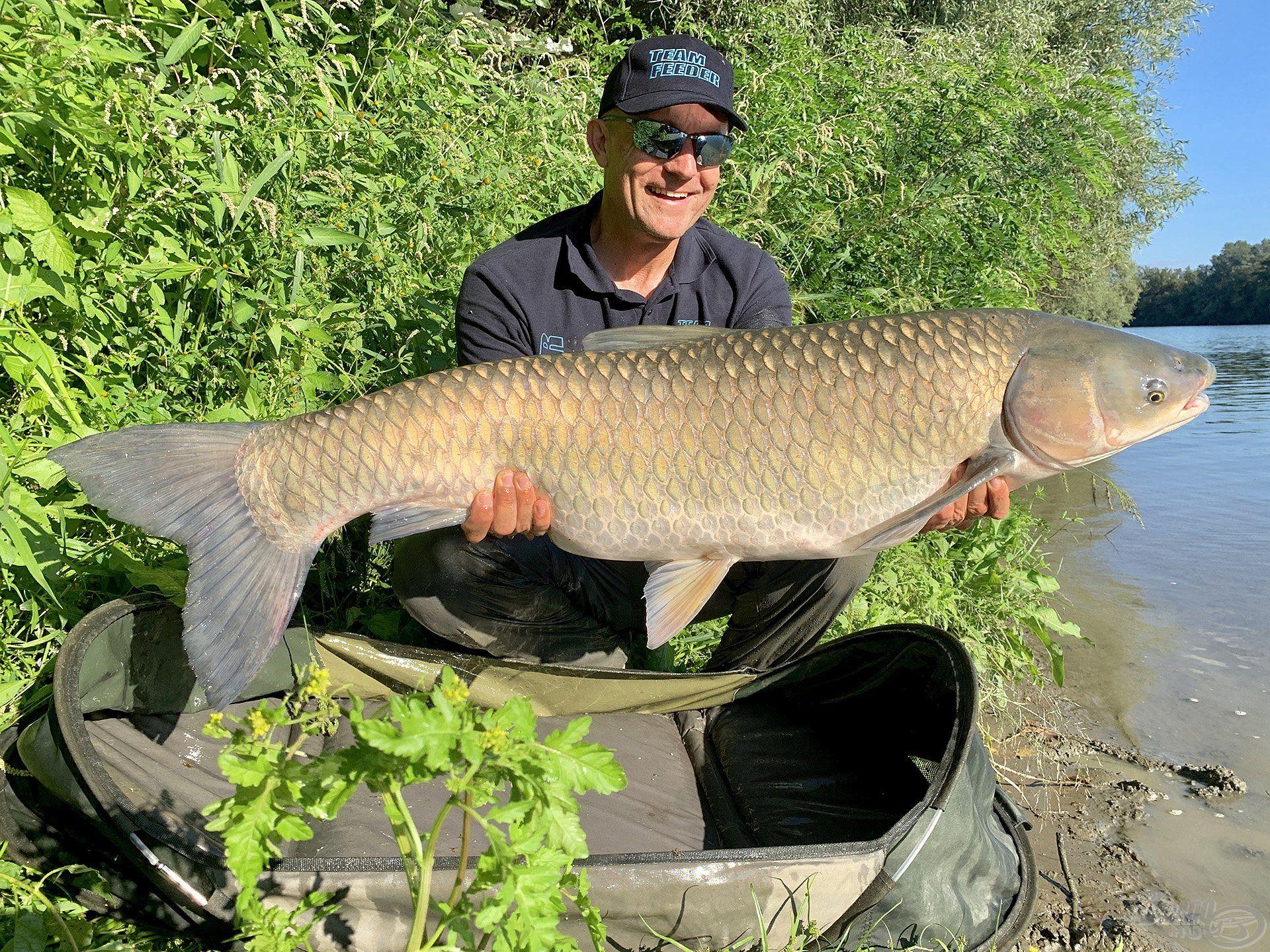 A nagy halak céltudatos horgászata nagyhalas felszerelést igényel!