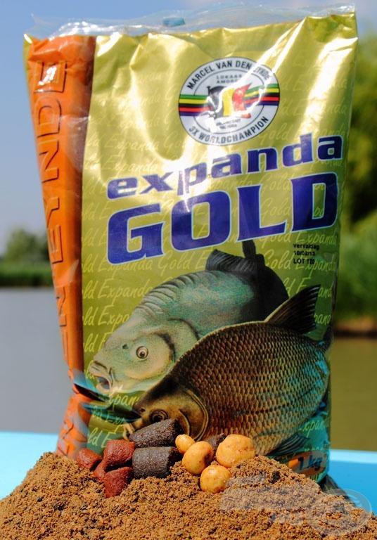 Az Expanda Goldot a két legsikeresebb pelletféle, a Mast pellet és a Halibut pellet őrlésével és keverésével készítik…