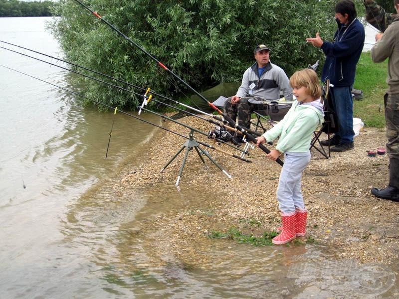 Apa, ha unod, majd én fogok halat