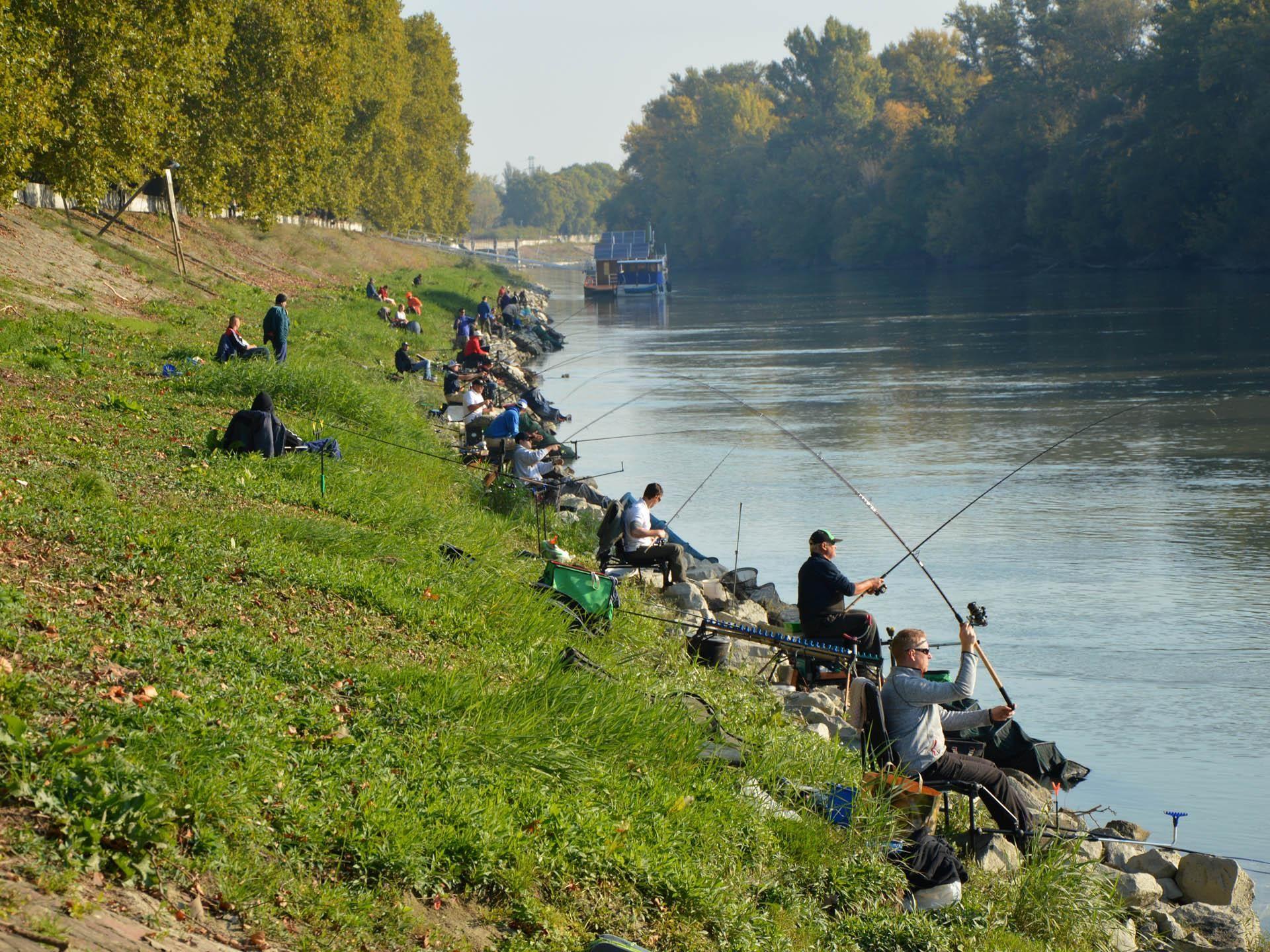 A folyóvízi feederezés is egyre népszerűbb