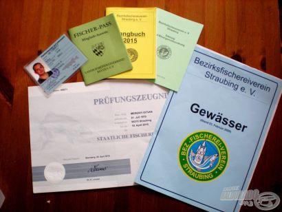 A hírhedt német horgászigazolvány megszerzése - 1. rész