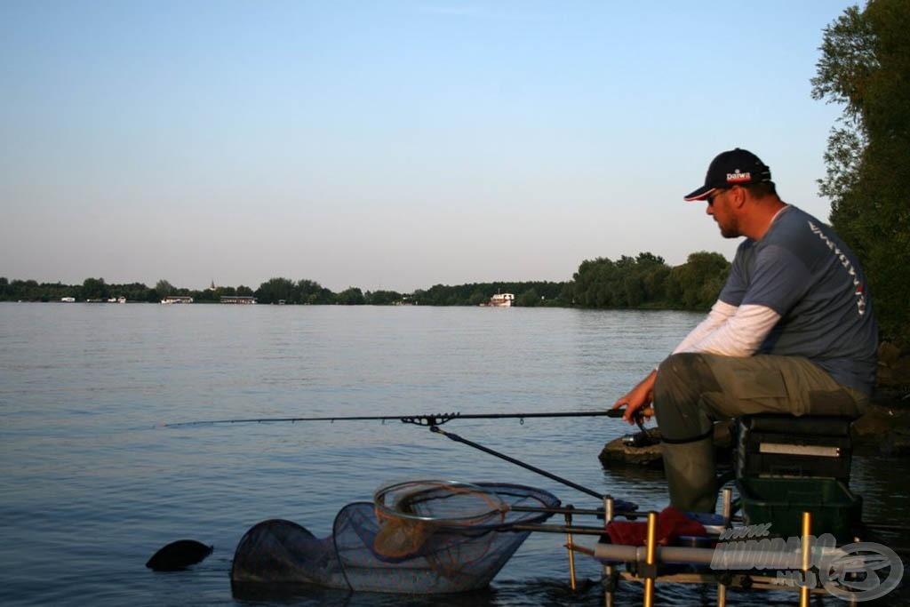 A finom feeder- és pickerbotok lehetővé teszik az érzékeny fenekező horgászatot is
