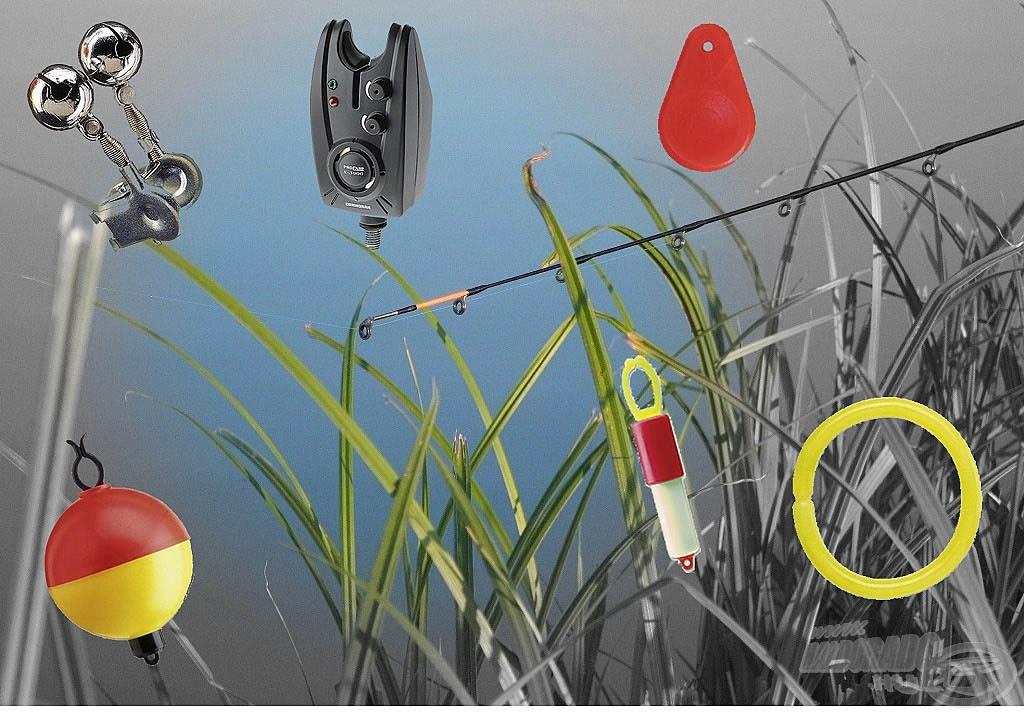 A horgászat eszközigénye: kapásjelzők fenekező horgászathoz