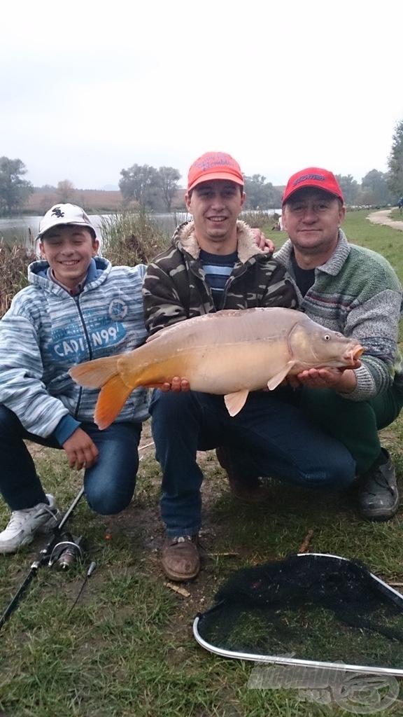A horgászat a mi családunkban három generációt kovácsolt még jobban össze