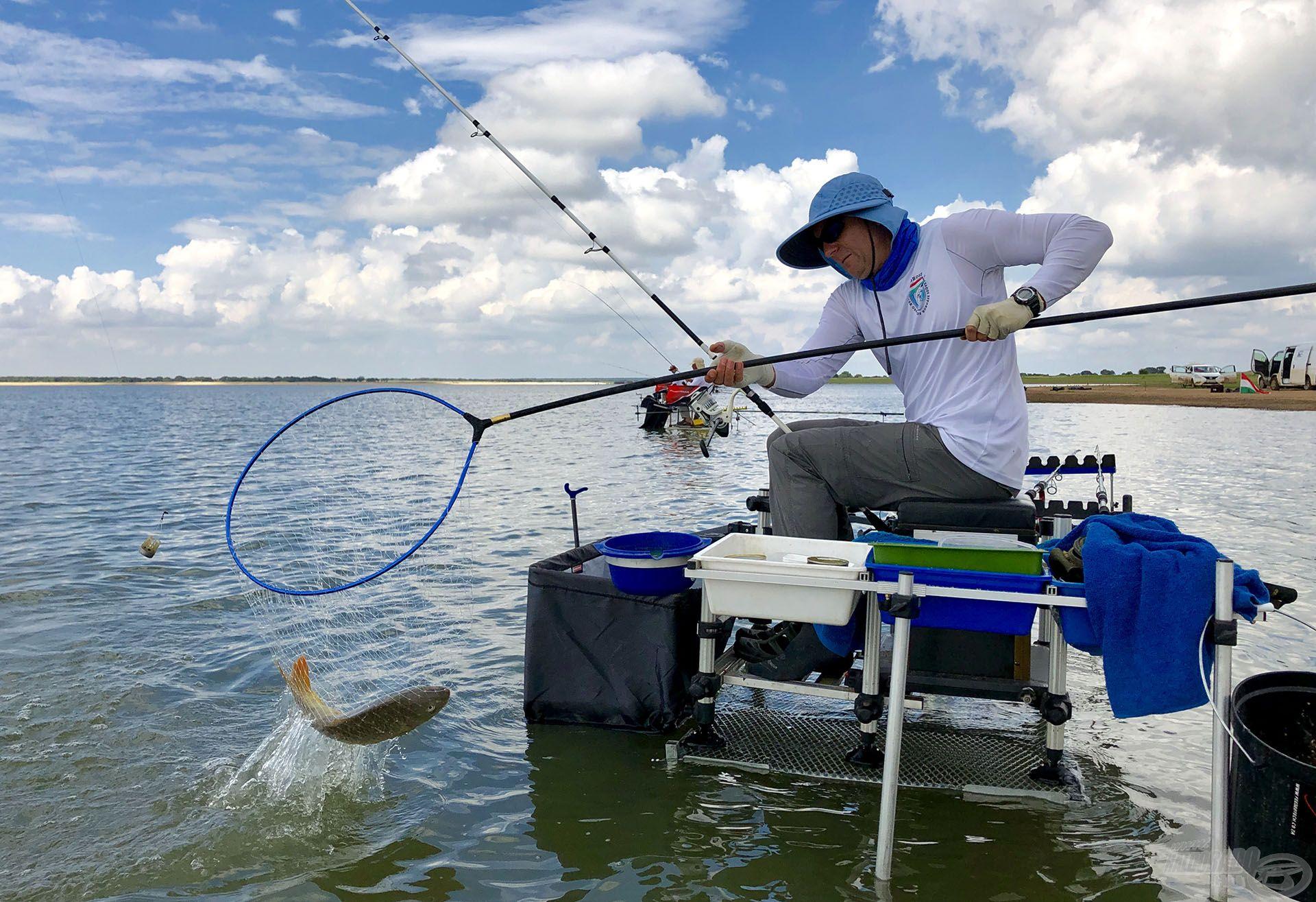 Kezdett felpörögni a horgászat