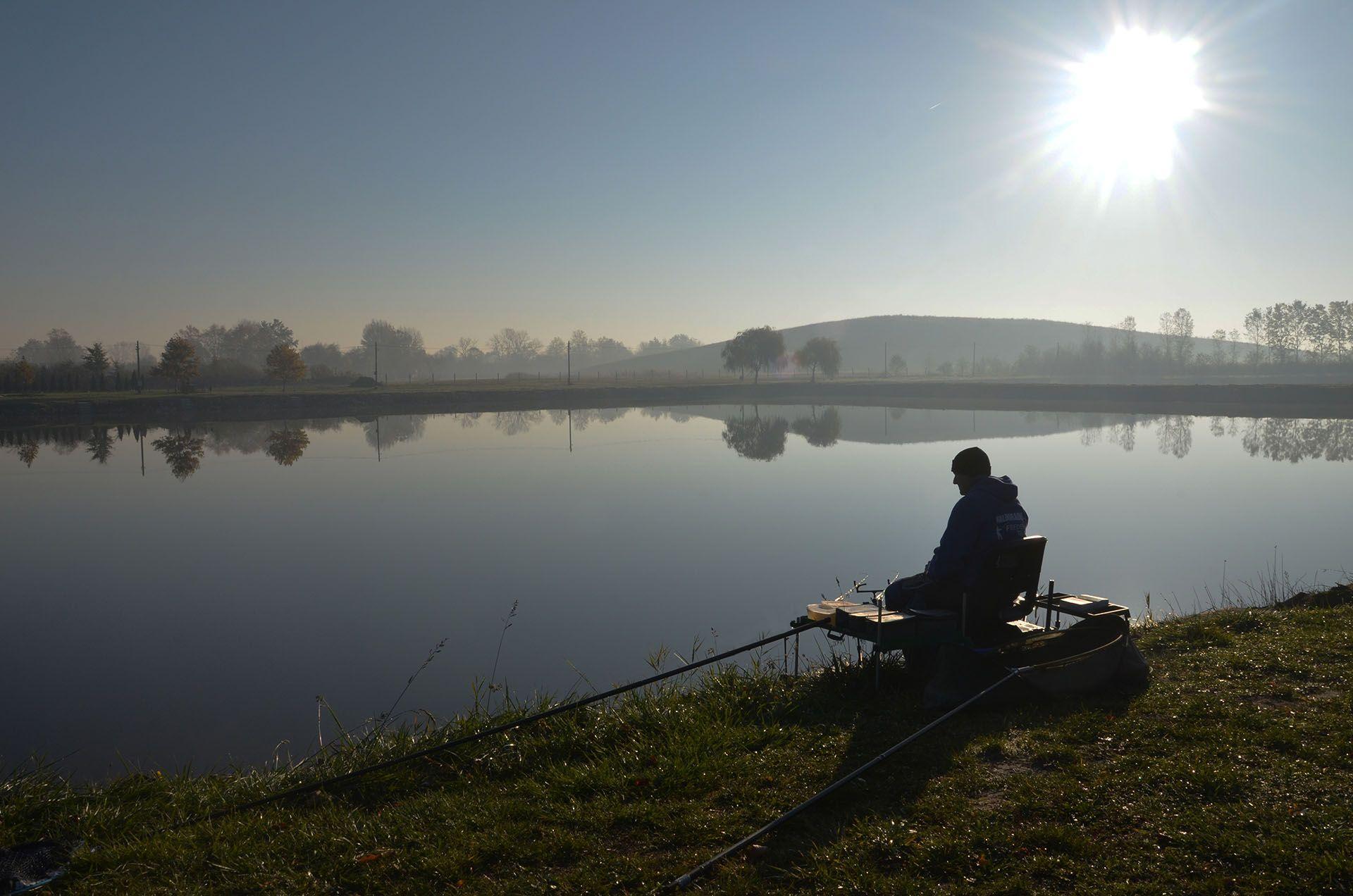 Különös hangulata van a késő őszi, téli horgászatoknak