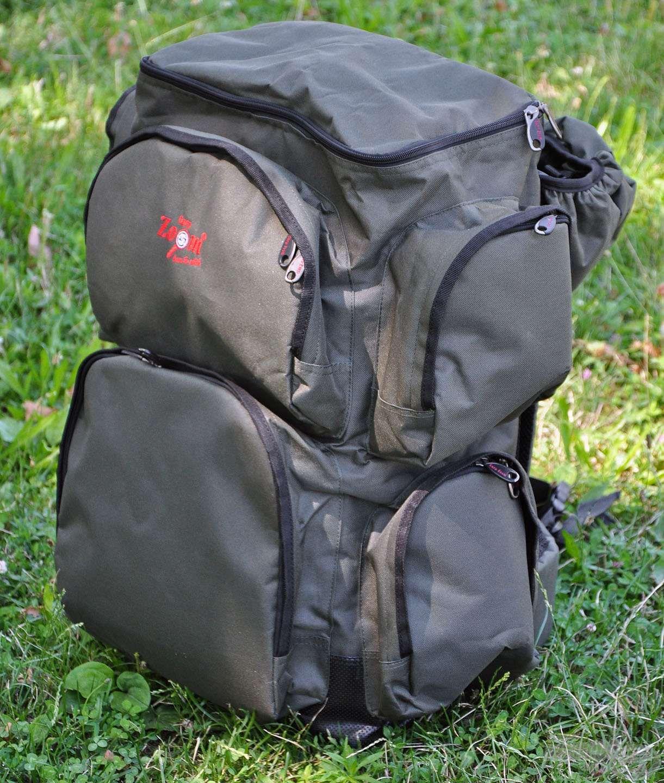 Ebbe a nagyméretű hátizsákba minden szükséges kiegészítő és kellék elfér, amire egy horgászaton vagy kiránduláson szükségünk lehet!