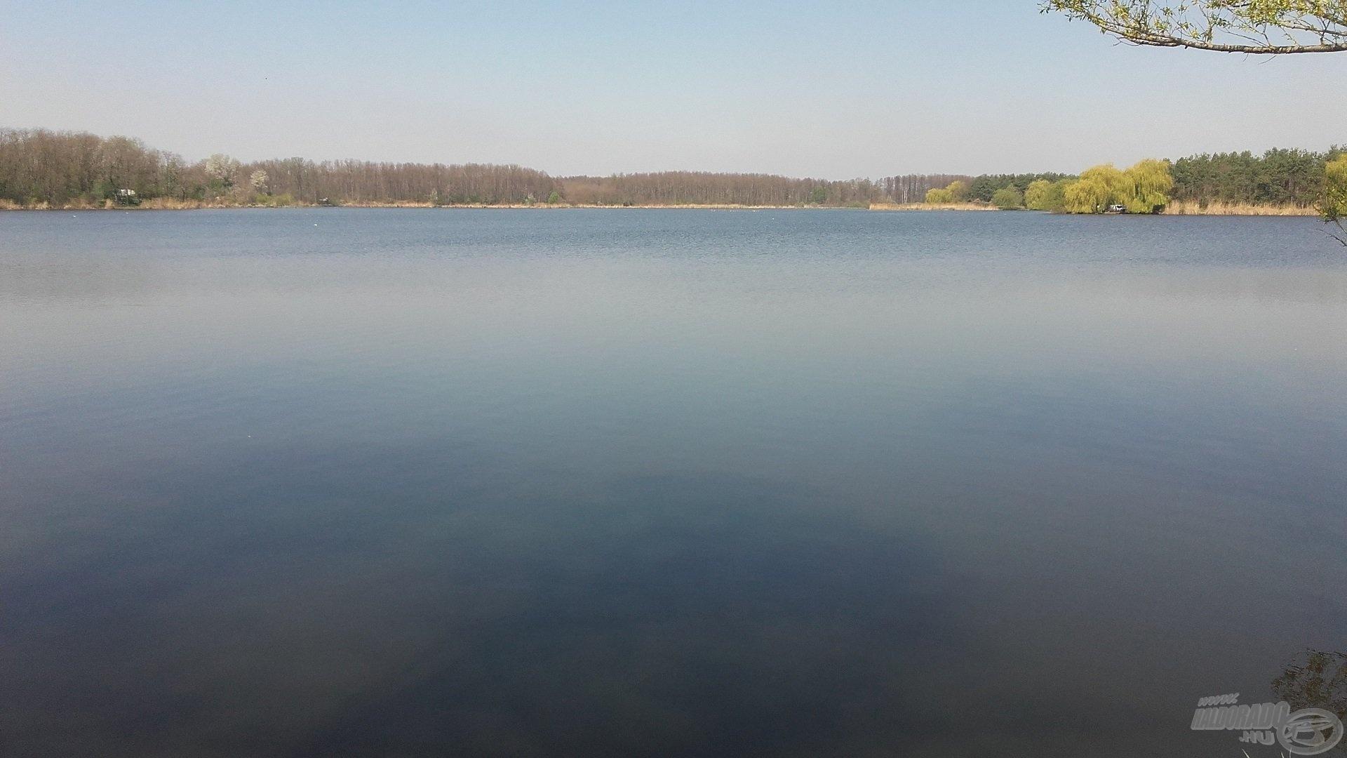 A tó alapvetően iszapos aljzatú, de néhány homokpad és egy-két kisebb kagylópad is található benne. Tipikus víztározó a gát előtti szakaszon 2-3 méteres, az ellentétes oldalon 0,5-1 méteres vízzel