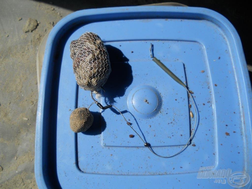 14 mm-es Monsterfish bojli és PVA csomagocska