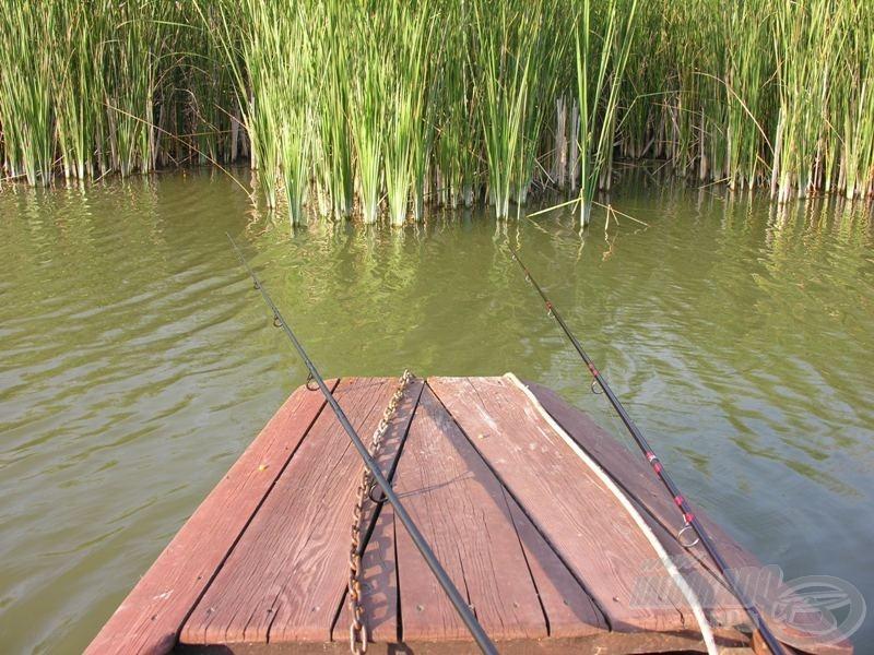 … ha a part nagy részéhez nem lehet hozzáférni, s csak a saját csónakomból tudok horgászni