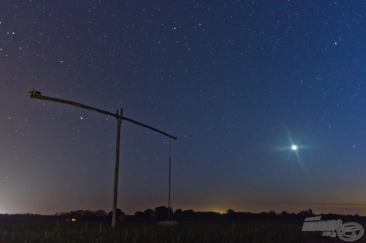 Akkor este különösen fényesen ragyogott a Vénusz