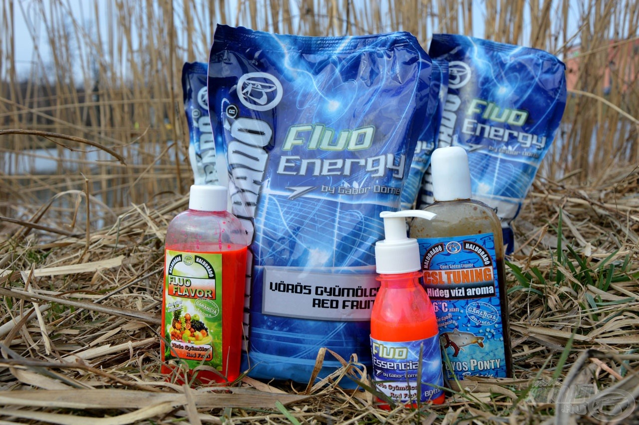 A Haldorádó Fluo Energy minden szempontból alkalmas tavaszi horgászatokra