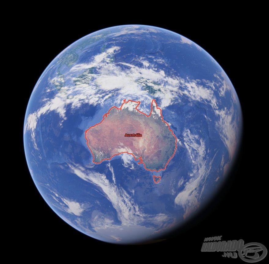 Ausztrália nem csupán egy ország, hanem egy földrész, egy nagy sziget, amely 82-szer nagyobb, mint Magyarország