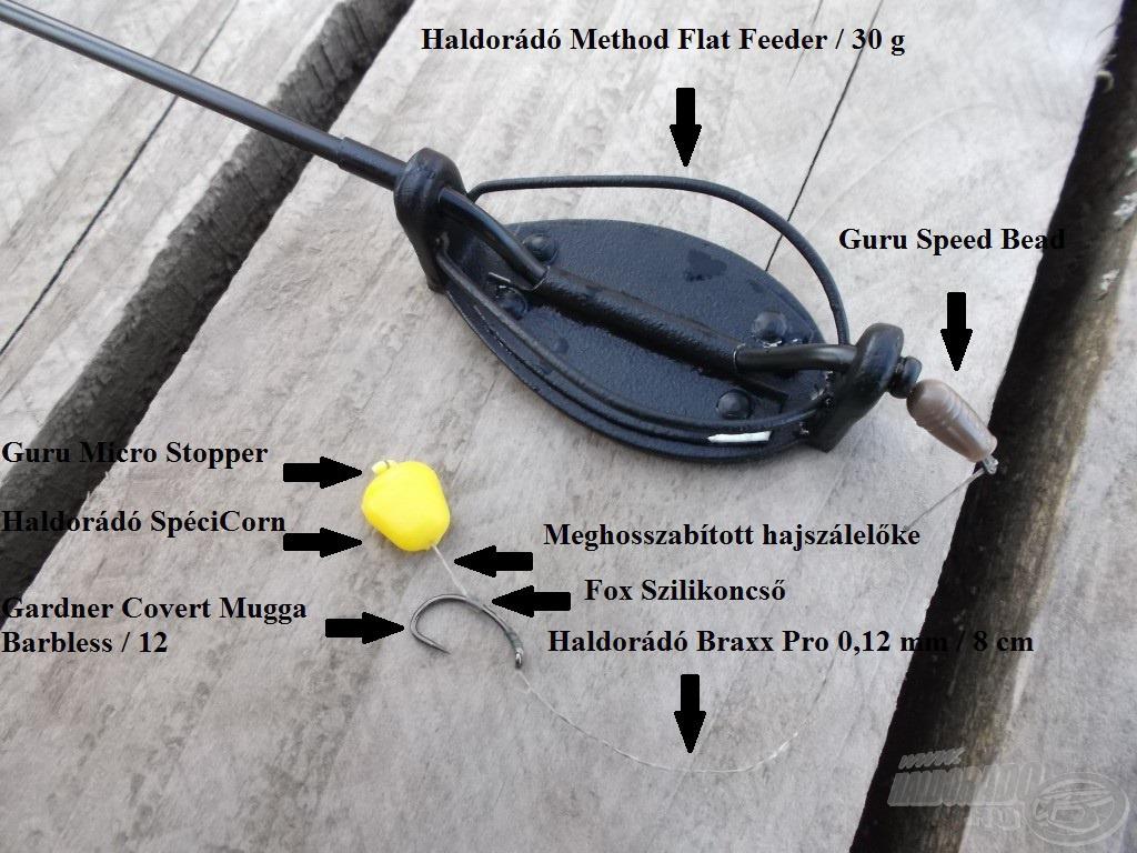 Nagyhalas method végszerelékem Spécicorn csalikhoz