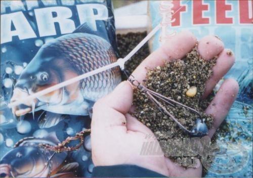 A csepp feederkosár előbb kiadja tartalmát