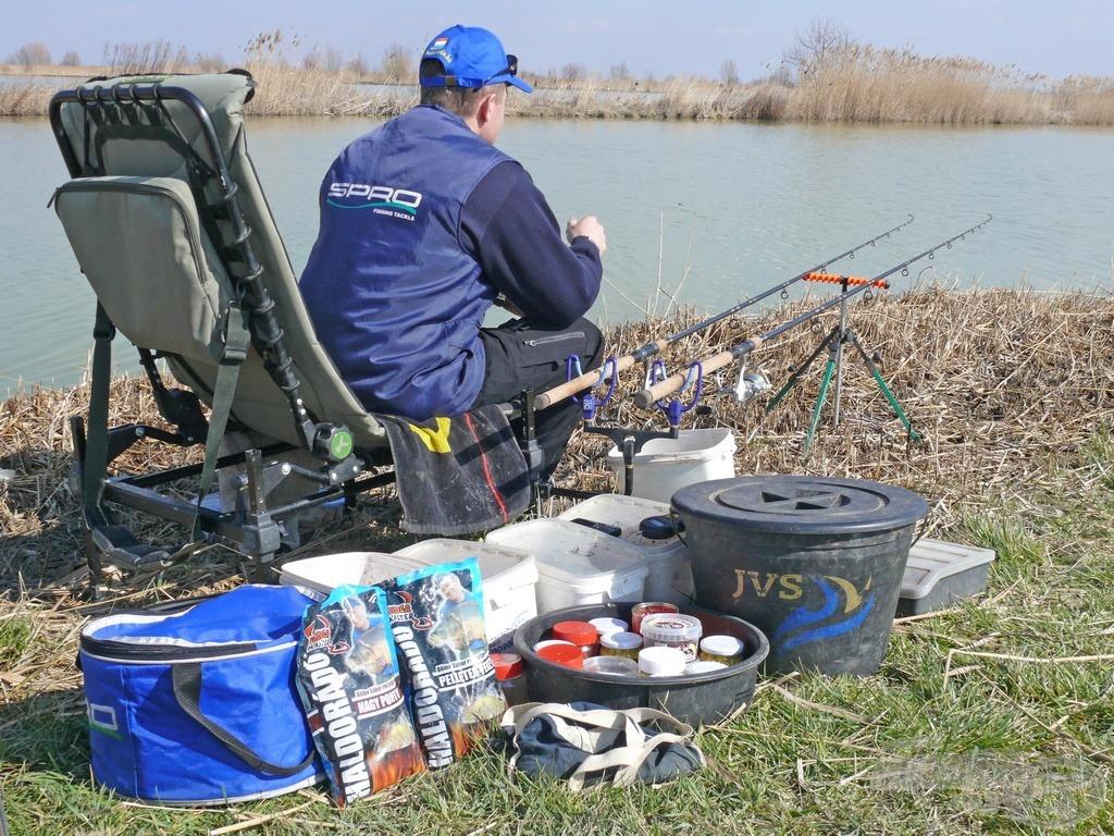 Minden horgászat új tapasztalat forrása