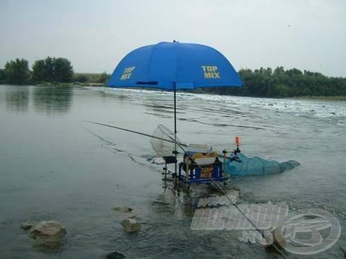 Megszállott horgászként bárhol, bármilyen körülmények között szívesen horgászik
