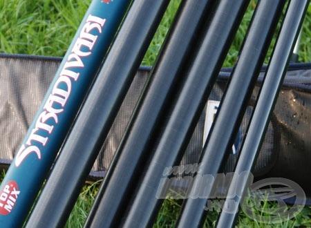 Az ún. golflabda felület (STRADIVARI Allround és Tournament széria botjai)